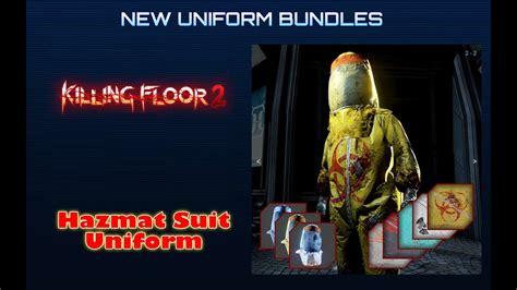 killing floor 2 hazmat suit uniform youtube