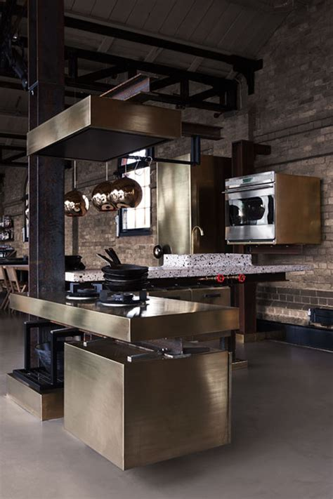 kitchen interior decor a kitchen with industrial look designed by tom dixon