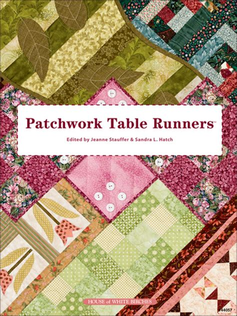 Patchwork Table Runner Pattern - quilting kitchen patterns runner topper patterns