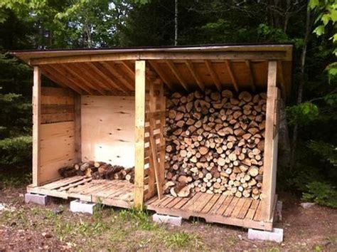build firewood rack pallets 14 easy diy outdoor firewood racks to keep those logs perfectly safe page 3 of 3 diy