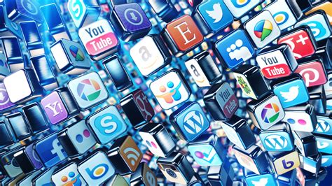 media background social media icons by alexdesigninc videohive
