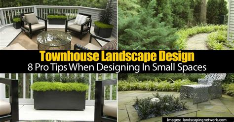 Townhouse Landscape Design 8 Pro Tips When Designing In Townhouse Backyard Landscaping Ideas