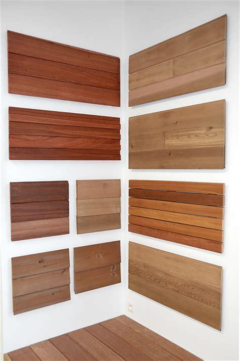 Trespa Platten Holzoptik by Dach Und Fassaden Lance Holz Bois Scierie