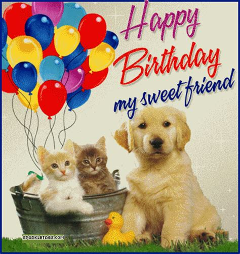 happy birthday puppy images friends birthday pictures images photos