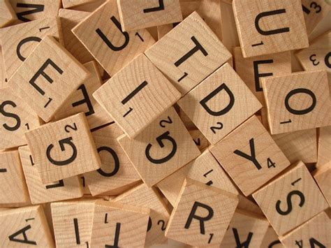 tiles in a scrabble crafter s delights with resin