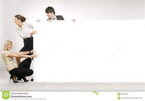 big white boards pulling big white board stock photography image