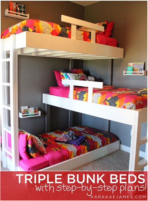 3 bed bunk beds best 25 3 bunk beds ideas on pinterest triple bunk beds triple bed and triple bunk