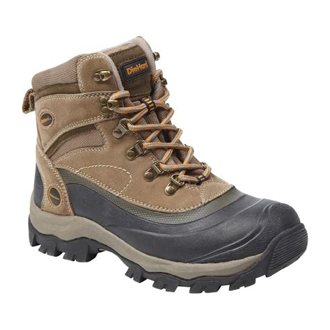 diehard s korbin3 lace pac winter boot taupe