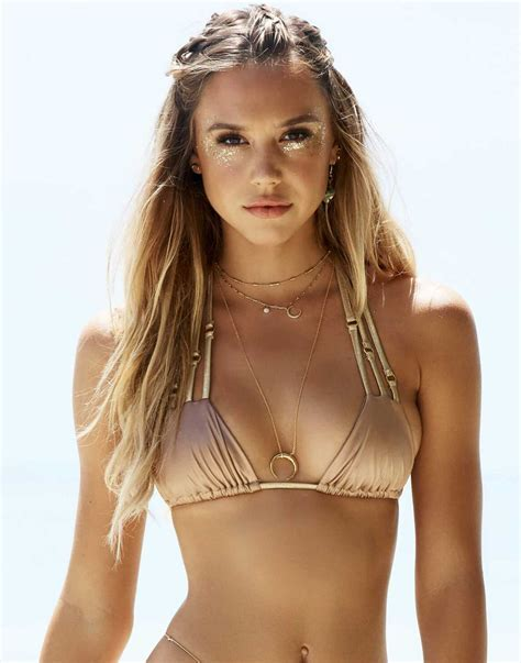 Alexis Ren In Beach Bunny Swimwear Sawfirst Hot Celebrity Pictures
