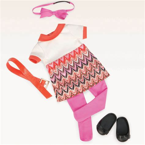 Our Generation Doll Closet by Our Generation Neat O Knit Retro Og Doll Neat O