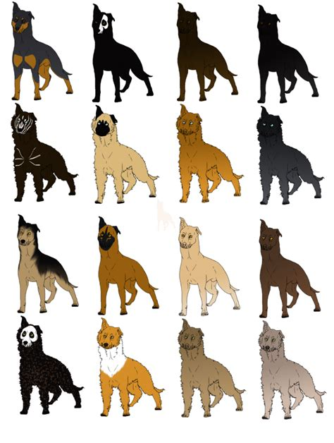 breed i chilean sheepdog colors and breed specifi markings by chewtora on deviantart