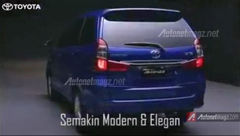 2015 Toyota Grand New Avanza ini dia detail spesifikasi mesin dan fitur baru toyota