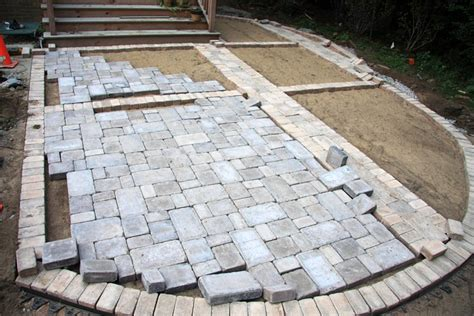 Lay Patio Pavers How Much Does It Cost To Build A Paver Patio Lay Patio Pavers Resolution 462x616 Px Size