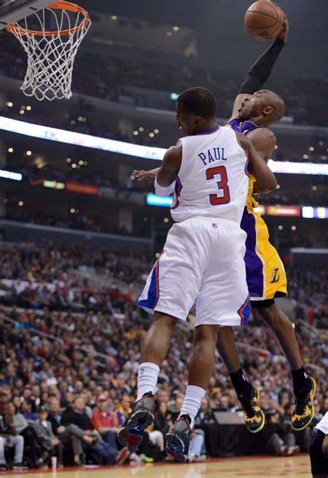 bryant best dunks highlight bryant posterizes cp3 in the quot sulfur
