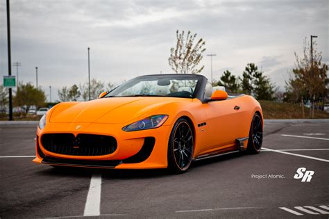 maserati orange sr project atomic inspiration is the atom of creativity