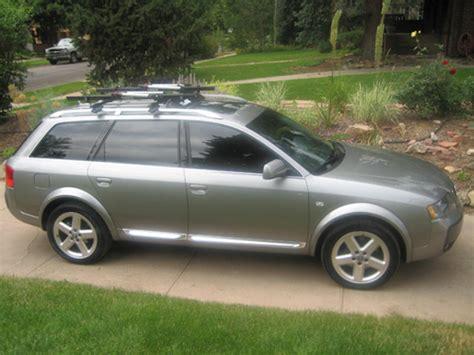 2009 audi a4 bike roof rack audi roof rack vs thule yakima etc mix and match