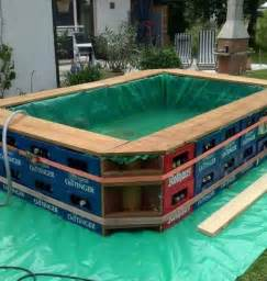 How To Build A Backyard Pool Diy Swimming Pool Cool And Fun Home Design Garden