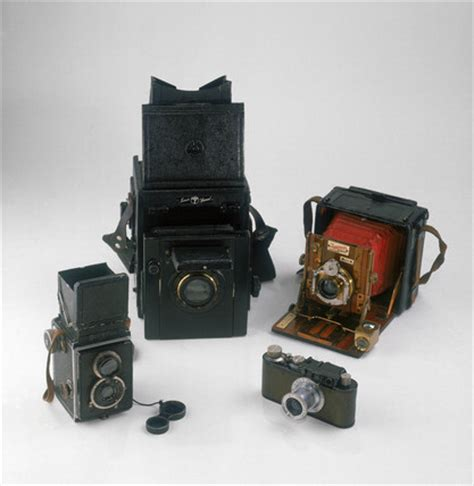 popular cameras of the 1920s and 1930s. by nmpft photo
