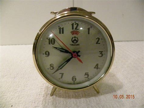 wind up alarm clock ebay