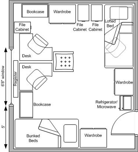 layout for university 17 best images about students house plans on pinterest