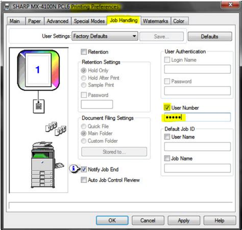 how to sharp how to setup sharp user on sharp copier