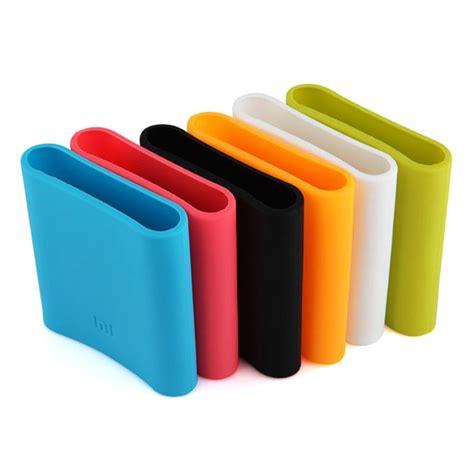 Silicon Cover For Xiaomi Power Bank 10400mah White Diskon xiaomi protective silicon rubber for 10400mah power bank