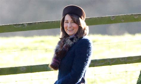 carol middleton hair styles carole middleton keeping kate company while prince william