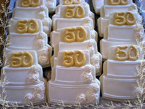 50th wedding anniversary cookies   Gourmet cookies by