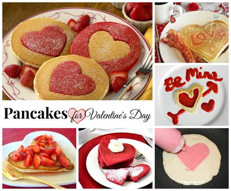 valentine s day pancakes celebrating holidays