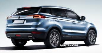Proton Suv Proton Suv Gets Rendered Based On Geely Boyue
