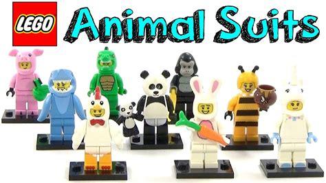 Lego Minifigure Panda Suit lego animal suit minifigure series collection
