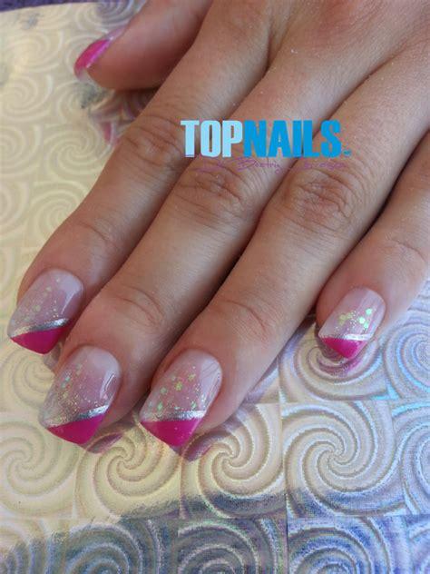 imagenes de uñas de acrilico faciles y bonitas www topnails cl u 241 as acr 237 licas naturales con decorado y