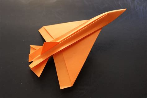 Origami Paper Plane Fighter - free coloring pages how to make a cool paper plane