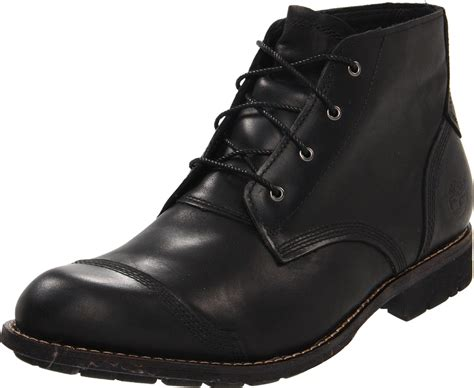 timberland earthkeepers city chukka boot in black for