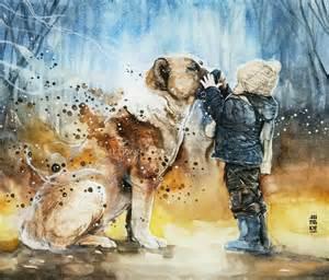 best friend painting by art jongkie no 658