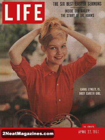for sale life magazine april 22, 1957 teenage star