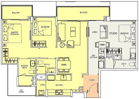 3 Bedroom Condo Floor Plans river isles condo river isles singapore