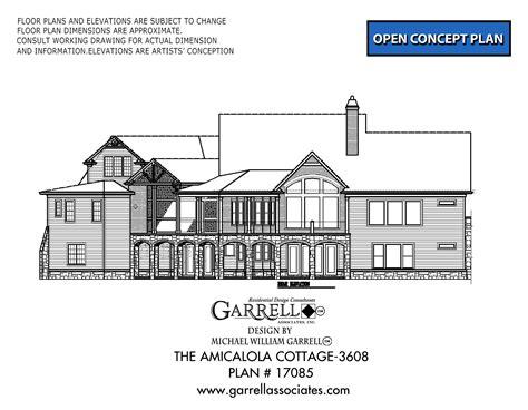 Amicalola House Plan Amicalola Cottage 3608 House Plan House Plans By Garrell Associates Inc