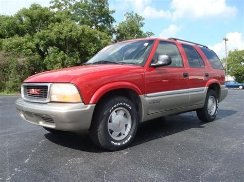 1998 gmc jimmy overview cargurus