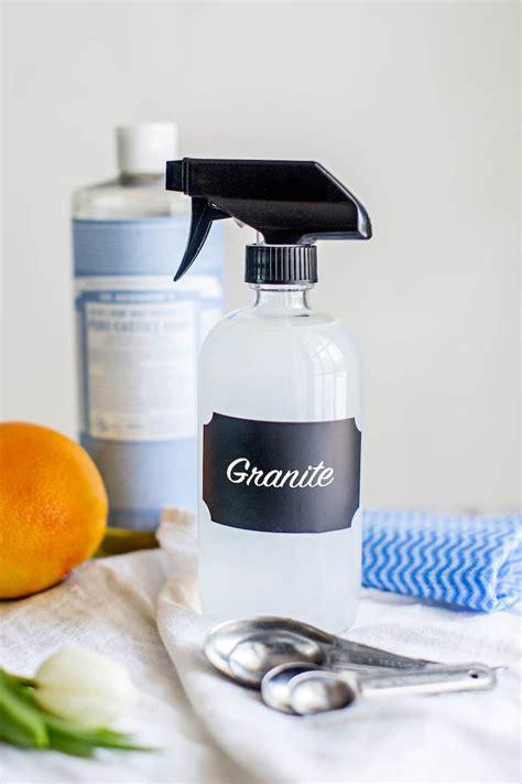 DIY Natural Granite Cleaner with Essential Oils   Hello Glow   Bloglovin?