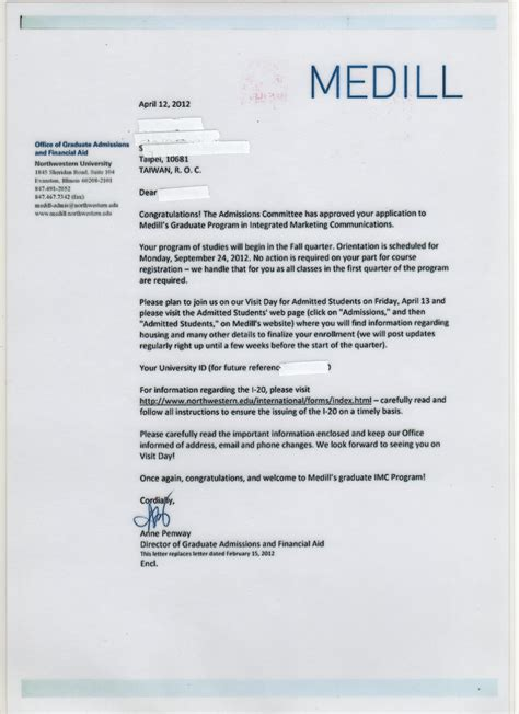 Tulane Acceptance Letter Application Acceptance Letter