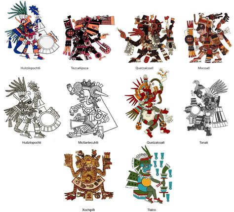 aztec gods tattoos aztec pictures pics images and photos for your
