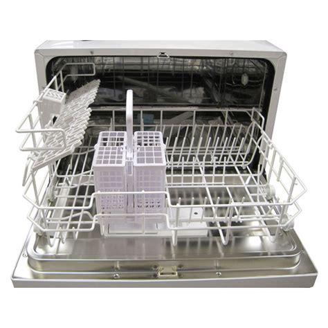 Spt Countertop Dishwasher Installation by Spt Sd 2201s Countertop Dishwasher Silver Energy