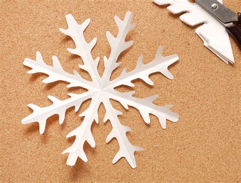 Make A Paper Snowflake - how to make paper snow flakes car interior design