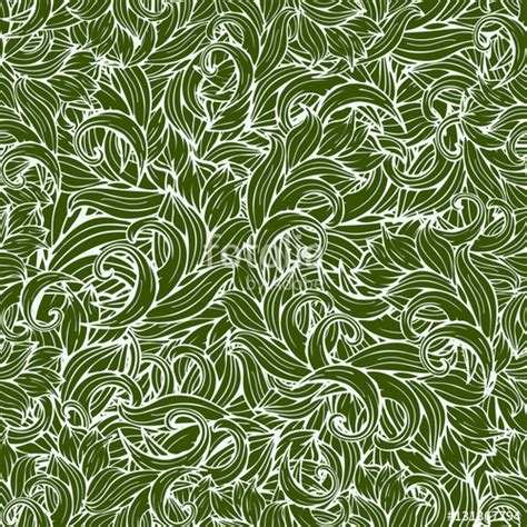 grass pattern drawing quot abstract scrollwork seamless pattern vector background