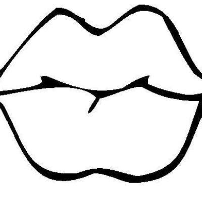 coloring pages of colored lips lips coloring pages clipart best