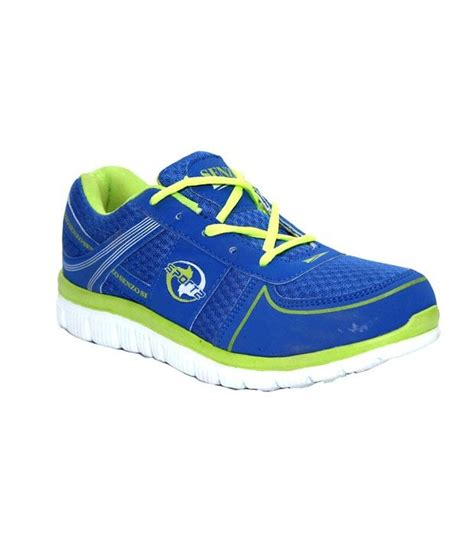 buy senzo blue mens sports shoes for snapdeal