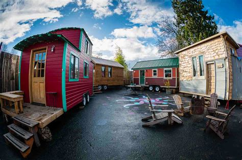 Tiny Homes Oregon by The Caravan Tiny House Hotel In Portland Is The In