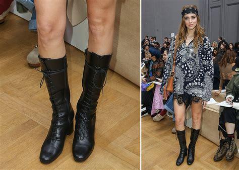 Chiara Ferragni Boots chiara ferragni had fall 2016 fashion month s most