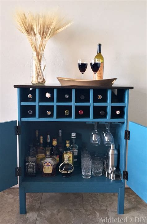 Bar Ikea Hack by Ikea Tarva Hack 3 Drawer Chest To Bar Cabinet